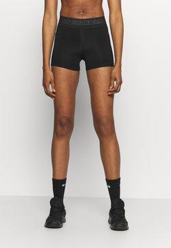 Nike Performance - SHORT FEMME  - Tights - black/white