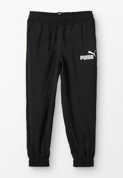 Puma - LOGO PANTS - Verryttelyhousut - black