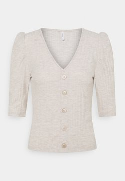 ONLY - ONLNELLA BUTTON - Gilet - pumice stone