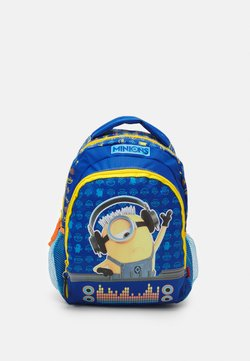 Kidzroom - BACKPACK MINIONS CHECK IT OUT UNISEX - Ryggsäck - blue