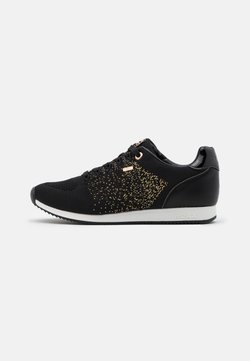 Mexx - DJAIMY - Sneakers laag - black/gold