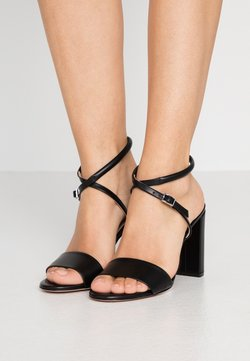 HUGO - PIPER  - Sandalen met hoge hak - black
