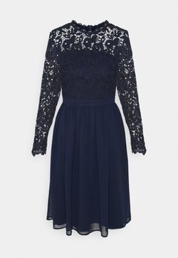 Chi Chi London - LYANA DRESS - Sukienka koktajlowa - navy
