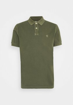 Marc O'Polo - SHORT SLEEVE BUTTON PLACKET - Poloshirt - dried herb