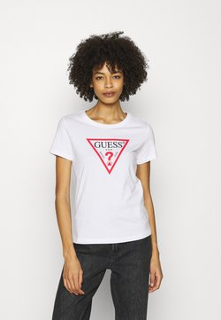 Guess - ORIGINAL - Camiseta estampada - true white