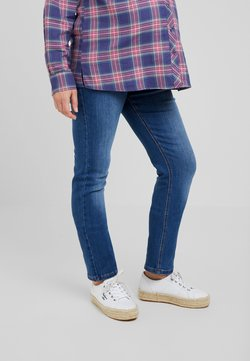 ohma! - HIGH BELLY - Straight leg jeans - light indigo