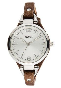 Fossil - GEORGIA - Horloge - dunkelbraun