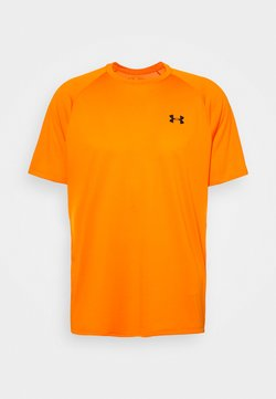 Under Armour - HEATGEAR TECH  - Camiseta estampada - vibe orange