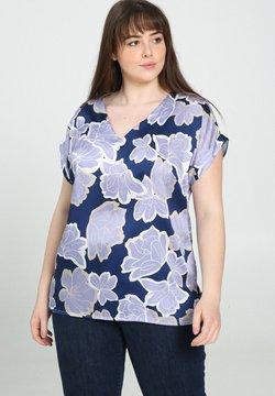 Promiss - MIT SATIN-EFFEKT UND BLUMENDRUCK - Bluse - lilac