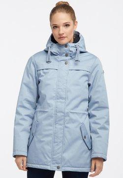 DreiMaster - Płaszcz zimowy - light blue
