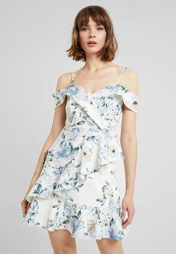 Forever New - KELLY RUFFLE DRESS - Hverdagskjoler - porcelain