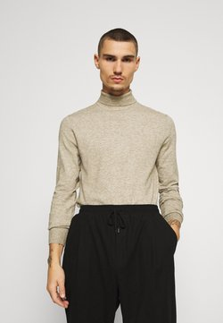 Only & Sons - ONSMIKKEL SOFT HIGH NECK - Trui - pelican