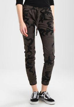 Urban Classics - LADIES CAMO PANTS - Kangashousut - grey