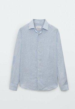 Massimo Dutti - SLIM FIT - Businesshemd - blue/black denim