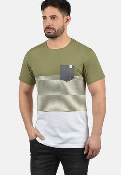 Solid - T-shirt con stampa - aloe