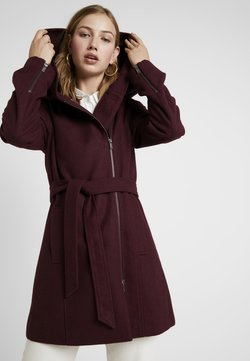 Even&Odd - Classic coat - bordeaux