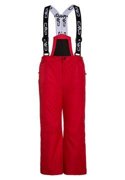 CMP - SALOPETTE UNISEX - Spodnie narciarskie - red