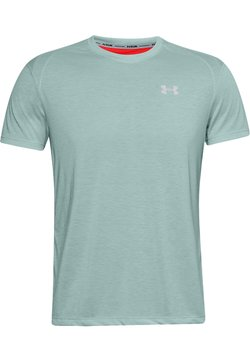 Under Armour - STREAKER SHORTSLEEVE - T-Shirt print - enamel blue