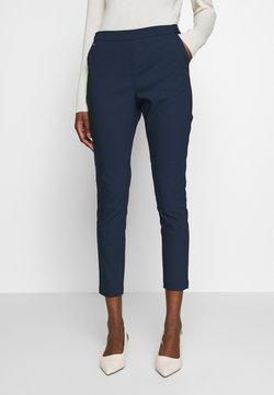Cortefiel - BASIC SLIM TROUSERS WITH JOGGER WAIST - Chinot - navy