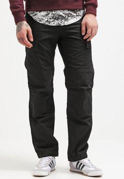Carhartt WIP - PANT COLUMBIA - Pantaloni cargo - black rinsed