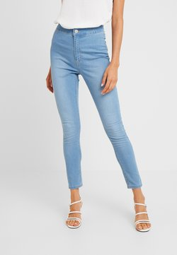 Cotton On - HIGH RISE - Jeans Skinny - skyway mid blue