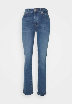 7 for all mankind - THE ILLUSION PLAYER - Jeansy Straight Leg - mid blue