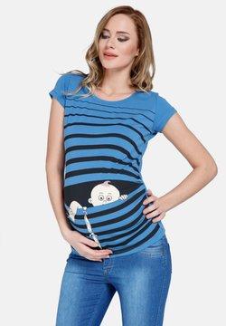 M.M.C. - BABY FLUCHT - T-Shirt print - dunkelblau