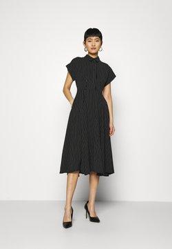 Closet - CLOSET FULL SKIRT SHIRT DRESS - Vestido camisero - black