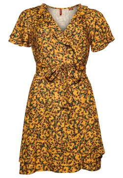 Superdry - Day dress - autumn ditsy gold
