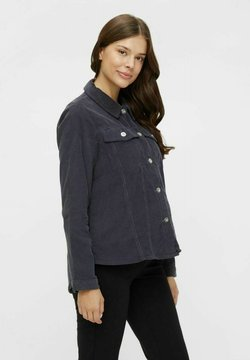 Pieces Maternity - PCMPOLLY SHACKET - Camisa - ombre blue
