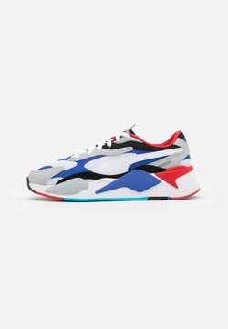 Puma - RS-X UNISEX - Sneakers laag - white/dazzling blue/hi rise