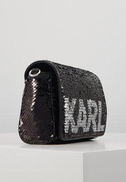 KARL LAGERFELD - SHOULDER BAG - Umhängetasche - black