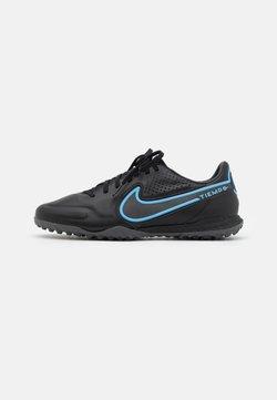 Nike Performance - REACT TIEMPO LEGEND 9 PRO TF - Korki Turfy - black/iron grey