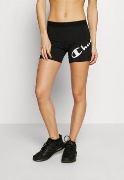 Champion - SHORTS - Collants - black