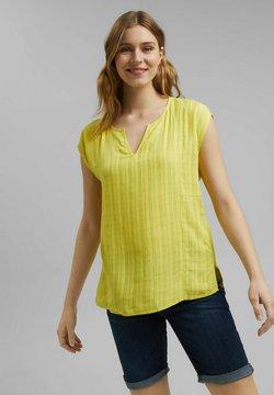 Esprit - Bluse - bright yellow