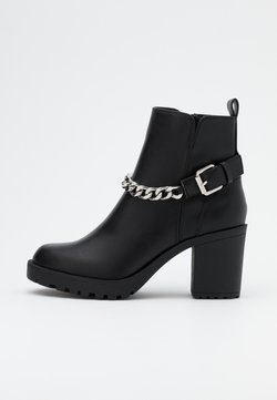 ONLY SHOES - ONLBARBARA HEELED CHAIN - Ankle Boot - black