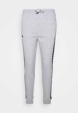 Kappa - JANTE - Pantaloni sportivi - mottled light grey