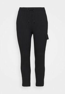 Marc O'Polo DENIM - PANTS - Cargohose - black