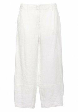 Hexeline - Spodnie materiałowe - biel