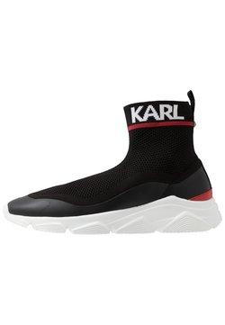 KARL LAGERFELD - VERGE PULL ON RUNNER - Sneaker high - black