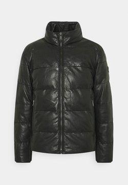 JOOP! - FLAME - Leather jacket - black