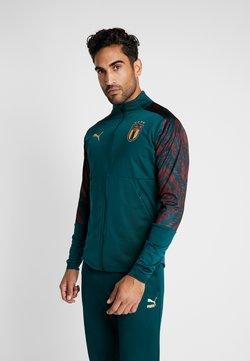 Puma - ITALIEN FIGC STADIUM THIRD JACKET - Trainingsjacke - ponderosa pine/cordovan