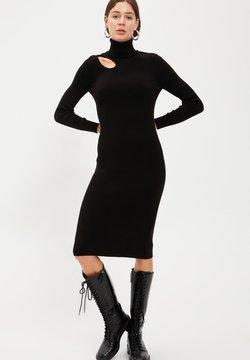 DeFacto - Vestido de punto - black
