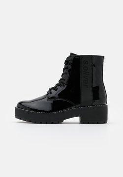 s.Oliver - Platform-nilkkurit - black