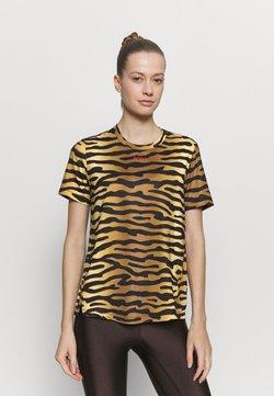 Björn Borg - CATO TEE - T-Shirt print - brown