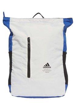 adidas Performance - CLASSIC TOP-ZIP BACKPACK - Reppu - white