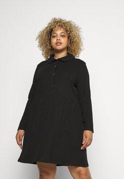 Missguided Plus - DRESS - Jerseykleid - black