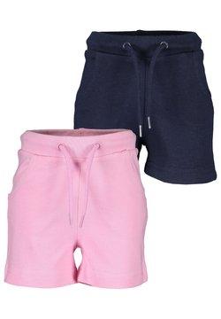 Blue Seven - MINI MD WIRKSHORTS - 2ER PACK - Shorts - azalee nachtblau