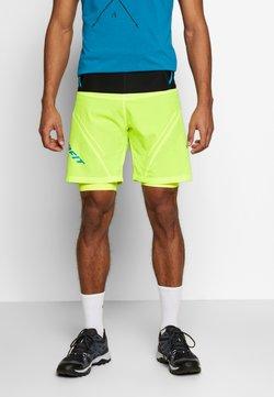 Dynafit - ULTRA SHORTS - kurze Sporthose - fluo yellow