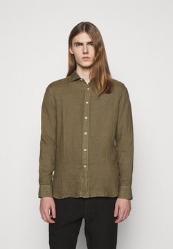 120% Lino - SLIM FIT - Shirt - vulcano